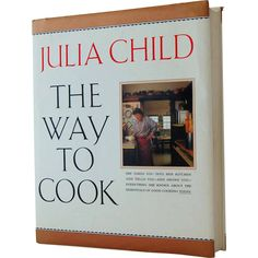 The Way to Cook Cookbook by Julia Child - 1989 First Edition Hardback from Antik Avenue on Ruby Lane #antikavenue #juliachild
