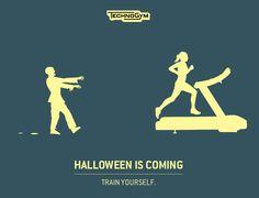 Technogym - #Halloween is coming - firmato @socialfactorit