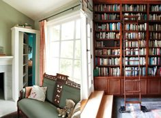 A secret passageway and built-in bookcases, swoon! Laura Joliet for NY Times