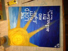 Bible verse painting!