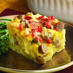 Holiday Breakfast Casserole  who needs a holiday for good food?