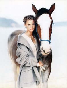 Girl & her horse  Love this Pic please comment if you like it
