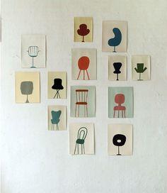 Chaises by Sabine Finkenauer