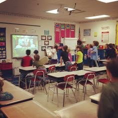Use Just Dance videos on YouTube for Brain Breaks and indoor recess!