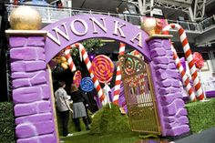 Wonka entrance