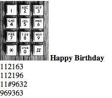 Happy Birthday on the phone play happi, idea, phone, happy birthdays, funni, random, happi bday, birthday songs, happi birthday
