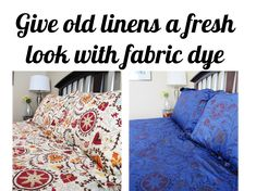 How to Overdye a Bedspread