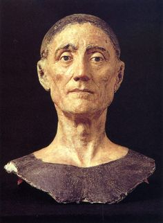 Henry VII. From the effigy that was made from his death mask, so it is the next best thing to a photograph of him at the end of his life.
