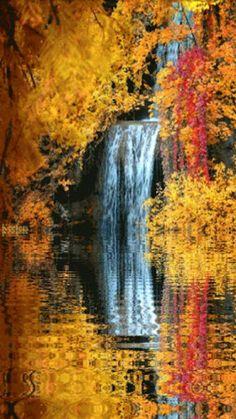 ✯ Fall Waterfall