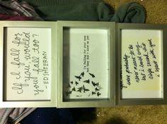 Ed Sheeran song lyrics framed wall art sheeran lyric, ed sheeran song lyrics