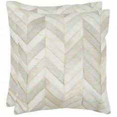 "Marley Multi/White Pillows 18"""