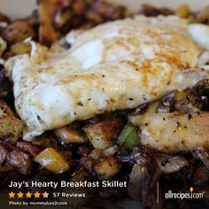 "Jay's Hearty Breakfast Skillet | ""Very yummy! This is simple and tastes great. If you love a big, hearty breakfast, this is it."" —LBHUNYBUNZ"