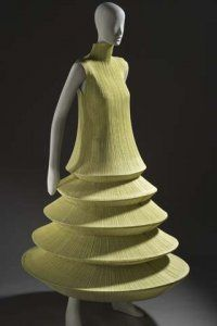"""Minaret"" dress by Issey Miyake. Spring/summer 1994"