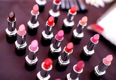 A look at some of the beautiful new Ultra Color Lipstick shades. #AvonMakeup