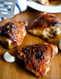Honey Garlic Chicken,