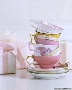 tea party without tea?bridal-shower