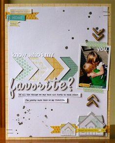 """""""Favorite"""" by justem, as seen in the Club CK Idea Galleries. #scrapbook #scrapbooking #creatingkeepsakes"""