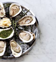Oysters from the John Dory Oyster Bar, New York Daily 5-7pm