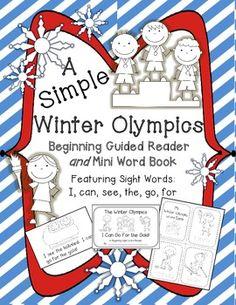 Winter Olympics Beginning Reader