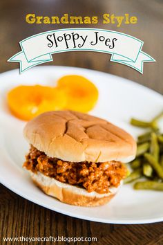 Grandmas Style Sloppy Joes on MyRecipeMagic.com
