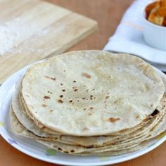 A popular Indian flat bread - Rotis - How to make soft rotis with video - With whole wheat flour