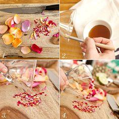 organic rose petal confetti