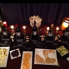 Wine tasting party... LOVE THIS IDEA!!