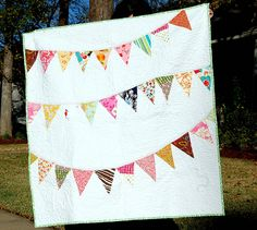 What a great baby quilt.
