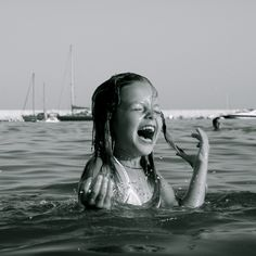 laughter.  this picture makes me smile :)