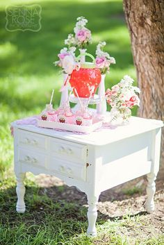 Party Inspirations: Mummy and Me Strawberry Shortcake Tea Party