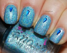 """Colors by Llarowe """"Shimmering Waters"""" www.colorfulcrack.com"""