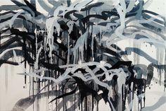 Broad Brush: New Gestural Paintings #art