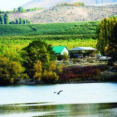 Apple country: Lake Entiat in Washington