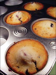Banana Blueberry Muffins - Recipe