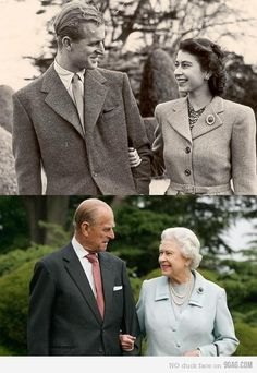 Prince Philip & the Queen