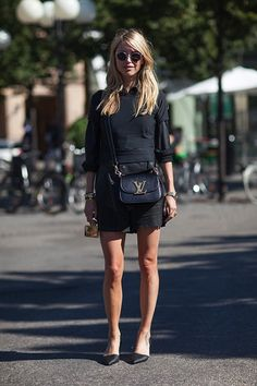 black outfits, casual fall, fashion week, street styles, fall styles, louis vuitton bags, lv bags, leather bags, lv handbags