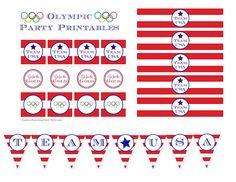 bloom designs- Free Olympic Printables