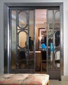 sliding screen doors!