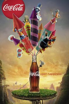 case study of coca cola advertising