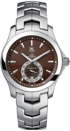 TAG Heuer Men's WJF211C.BA0570 Link Calibre 6 Automatic Watch from TAG Heuer @ TAG-Heuer-Watches .com