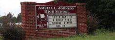 My old high school in Thomaston, AL