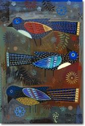 Three Birds by Terrell Powell seahors, three little birds, three bird