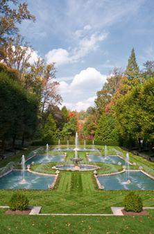 Longwood Gardens - Italian Water Garden