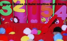 Intuitive Math Skills and Games for #Preschool #ece