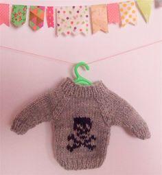 knitted skull