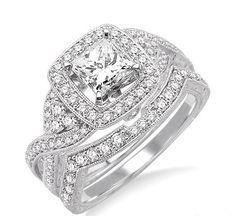 diamond engag, cut halo, weddingengag ring, uniqu engag, white gold