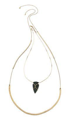 serefina Arrowhead Necklace
