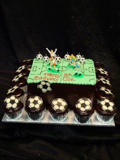 Cake Decorating Heidelberg : Soccer cakes on Pinterest Soccer, Soccer Ball and ...