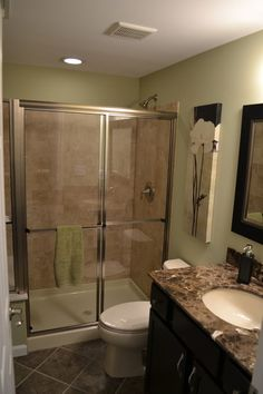 Always vent. One of the most important parts of a bathroom in a basement is a sufficiently powerful ceiling fan to evacuate the moisture — n...