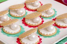 Cookies at a Mermaid Party #mermaid #partycookies